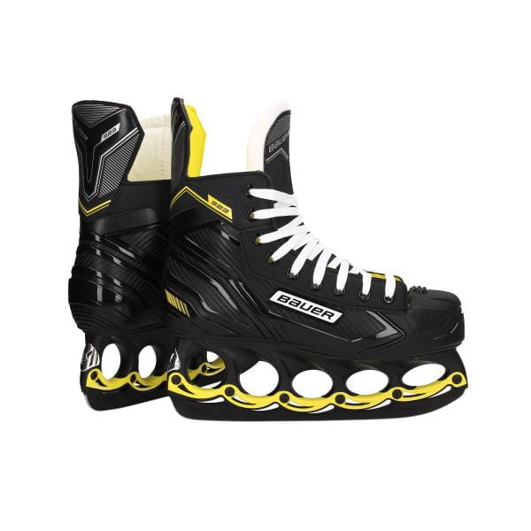 BAUER S23 t-blade Schlittschuh Black-Yellow