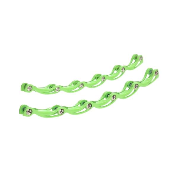 t-blade Stabilisator mit Schrauben grün lackiert 256