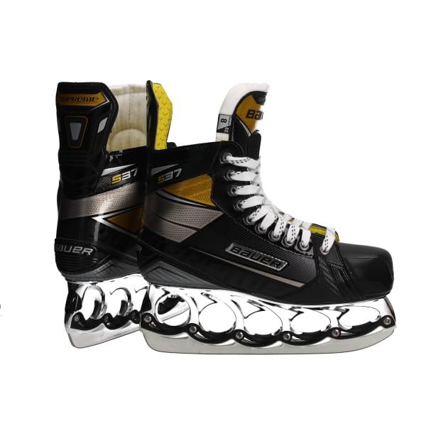 Bauer t-blade Supreme S37 Ice skate Chrome Edition