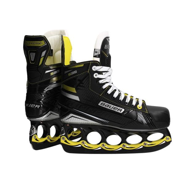 BAUER Supreme S35 Schlittschuh Black Yellow