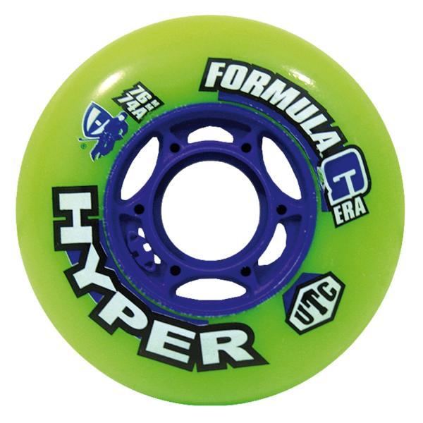 Hyper Formula G Era Inline Rolle Indoor 74A 4er Set