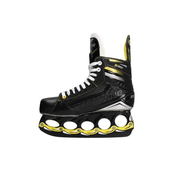 BAUER Supreme S35 Ice Skate Black Yellow