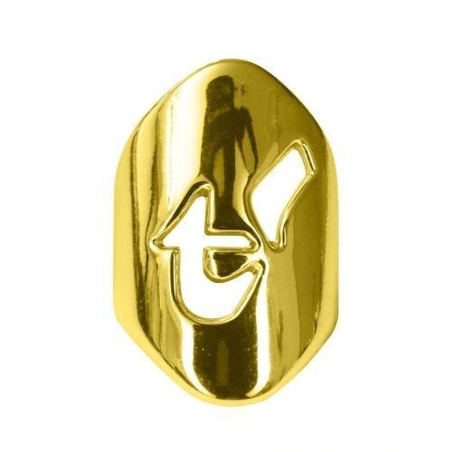 t-blade clip metallic-gold