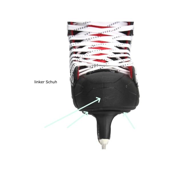 BAUER NSX t-blade Schlittschuh black, Einzelstück EUR 40,5